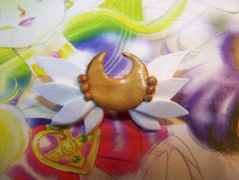 Eternal Sailor Moon's Brooch 2 by littlemooglet