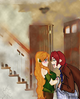 2 gingers 1 bed by KnoxOneBack