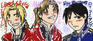 FMA Cards, Part 1 by iHeartPigs0618