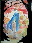 Wirt - Over the Garden Wall - Watercolour by RonyeryX
