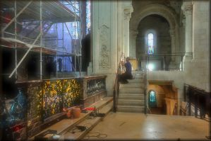 Renewal of the church by Wetterlage