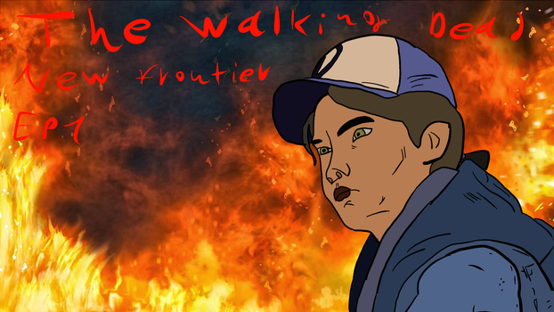 The Walking Dead New Frontier by scarygun