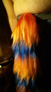 My new tail 3 by TimidClef