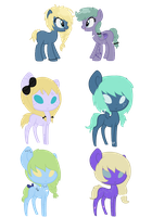 Starnacat's ponies BREEDABLE ADOPTS CLOSED by acervine