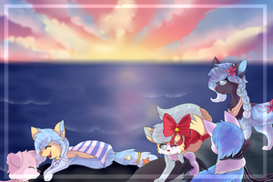 :CE: Looking to the ocean by snowflake95
