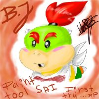 Bowser Jr. in ptSAI by SsKingdomsFury