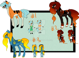 Pony with anthro Auction :open: points+Paypal by Koiremains