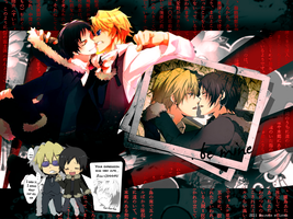 Shizaya Wallpaper by lotras