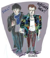 Sherlock/Ace Ventura. by superfizz