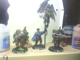 98th cadian command squad by zaku0909