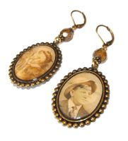 Old Photo Earrings by JLHilton