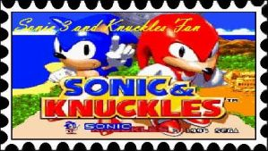Sonic 3 and Knuckles Fan Stamp by RamosisMario89