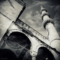 The Blue Mosque by lostknightkg