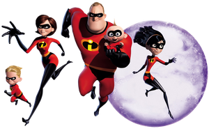 The Incredibles by CaptainJackHarkness