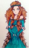 Autumn Merida by UkeHicForEva