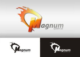 Logo magnum by lion85design