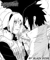 SasuSaku two by byBlackRose