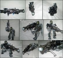 BIONICLE Weapon - SR-01 Horizon Hunter by Master-Cehk