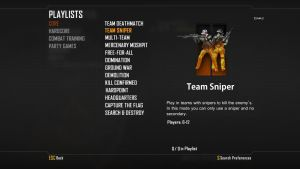 Black Ops II - Sniper gamemode by Speetix
