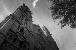 Cathedral of the Madeline02 by RogueMarine