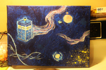 Doctor Who Painting. by Lil-Christa