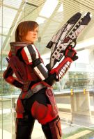 ME3: FemShep by MissCordie