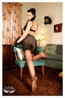stockings and girdles by vivavanstory