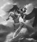 Nike, Goddess of Victory by crellan00