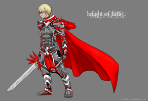 Coloring: Knight of Time by HitchhikersGuide101