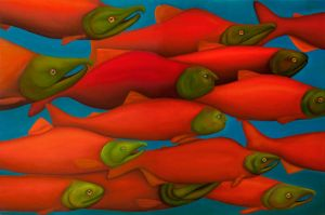 fishes by maximgolovko
