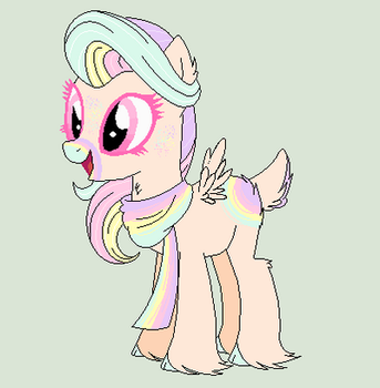 Pastel Deer Pony Auction CLOSED by Jess4horses