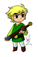 Link - Hero of Wind (final) by BiasBlaster