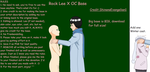 Rock Lee X OC Base by ShinanaEvangelian1