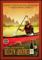 Canoeing and Trappist Beer by houselightgallery