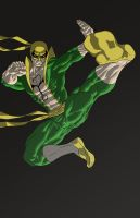 Classic Iron Fist by turbosuo