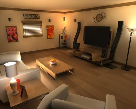 The Living Room by PatTheRat