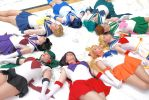 Sailor Moon Group 01 by cloudsofsand