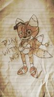 Tails Doll Drawing from God Knows Where! by Wolf-Chalk