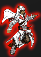 ponyfied ezio soul calibur 5 style by Lucandreus