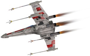 X Wing 2,10 by Cyborgerotica