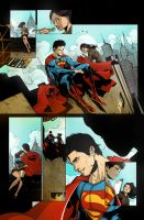 Just a coloured smallville page by SandraMJ