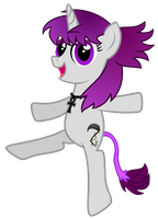 Bloodberry Can-Can Pony by partylikeapegasister