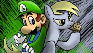 Mario-MLP Combo 2 by s216Barber