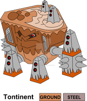 Giant Robotic Landmass Legendary Fakemon by KingsTailor