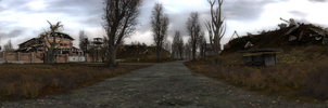 S.T.A.L.K.E.R. Shadow of Chernobyl Panorama by Enjuaguese