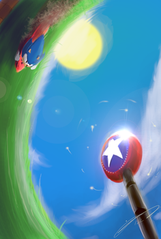 Green Hill Zone by Jord-UK