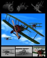 Sopwith Camel WIPs - 3D by DuffMan256