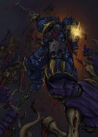 Night lords raptor (color) by MyDeads