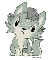 Chibi Wolf Link by Daieny
