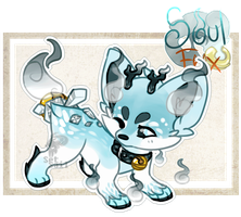 (Closed) Frozen Reindeer SoulFox Auction! by SetSaiI